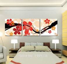 modern wall art painting u0026 calligraphy peach blossom painting