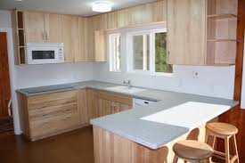 kitchen backsplash height kitchen alder wood orange zest shaker door counter height kitchen