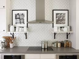 interior beautiful gray subway tile backsplash tile kitchen