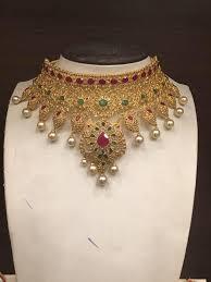 wedding jewelry choker necklace images Bridal uncut diamond choker necklace j llr pinterest jpg