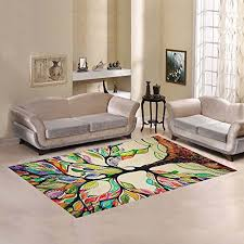 Play Room Rugs Funky Wisdom Tree Of Life Area Rugs Choose From Over 7 Designs