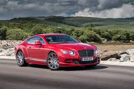 bentley convertible red 2015 bentley continental gt speed fastest production model yet
