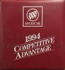 1994 century cutlass ciera and cruiser repair shop manual original