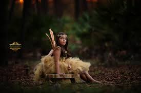 Ava Sessions Gold Fairy In The Woods A Styled Fairy Session By Kansas Pitts