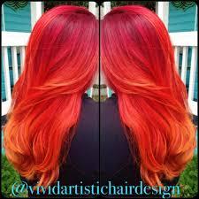 how to blood and mandarin orange color melt career color