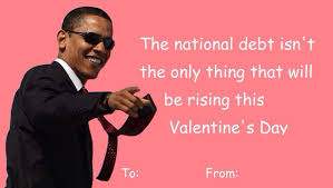 president obama valentines day card day cards