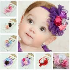 baby hair bands baby headbands flower buds hairbands kids children