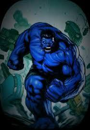 comics blue hulk free papercraft download