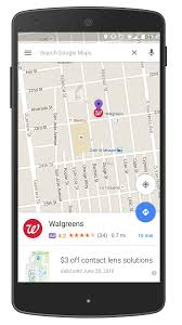Create Route On Google Maps by Google Maps Goes Down Scenic Route With Ad Heavy U201cpromoted Pins