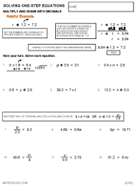 algebra help packets by math crush