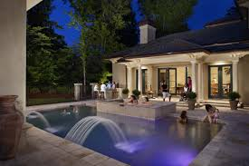Outdoor Water Features With Lights by Ignite Outdoor Enjoyment With Lighting During National Lawn And