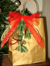 christmas wrap bags gift wrapping ideas