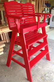 red umpire chair jpg