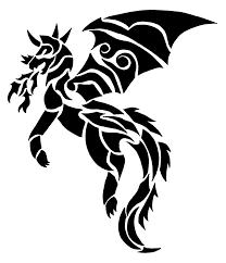 great hound dragon tattoo design for girls picsmine