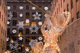 Primitive Holiday Decor New York City Manhattan Rockefeller Center Christmas Decorations