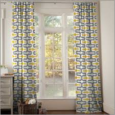 Gray And Yellow Curtains Awesome Inspiration Yellow And Gray Kitchen Curtains Decor