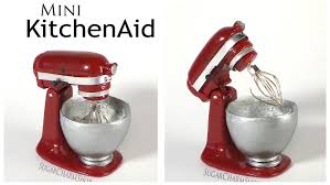 Kitchenaid Mixers On Sale by Miniature Kitchenaid Stand Mixer Polymer Clay Tutorial Youtube