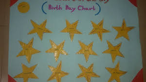 how to make a birthday chart for children diy crafts tutorial