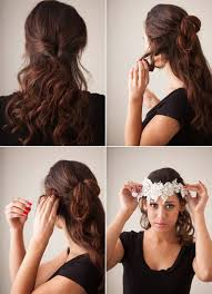 diy wedding hair picture of vintage diy bridal hair tutorial