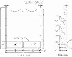 How To Make A Gun Cabinet by Gun Rack Plans Google Search Gun Safe Rack Pinterest Guns