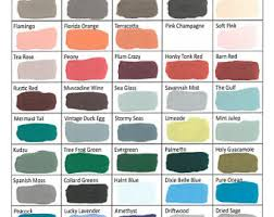 Shabby Chic Wall Colors by Chalk Paint Etsy