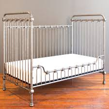 Bed Crib Baby Crib Pewter