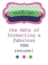 Create The Best Resume by The Art Of The Resume Rec Letter U2013 Baylor Sorority Rush Rush