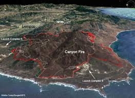 Los Angeles Afb Map by Canyon Fire U2013 Wildfire Today