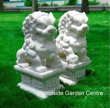 large poppy marble resin garden statue woodside