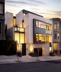 modern urban home design new four story urban home design russian hill residence by john