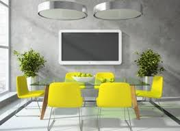 dining room yellow dining chairs pictures decorations
