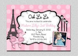 pink birthday invitations paris poodle birthday invitation poodle birthday invitation