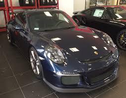 porsche blue gt3 2015 gt3 dark blue cpo warranty 153 991 00 rennlist