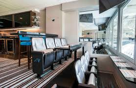 Floor Level Seating Furniture by Carolina Panthers Suite Clubs