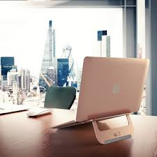 Desk Laptop Stand by Satechi Aluminium Laptop Stand Rose Gold Price U2014 Dice Bg