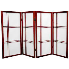screen room divider amazon com oriental furniture 3 ft tall double cross shoji