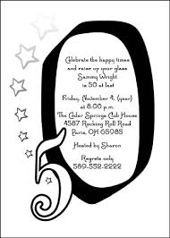 50th birthday party invitation sayings infoinvitation co