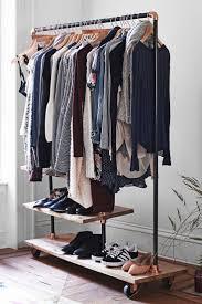 closet expandable closet organizer for bedroom storage system