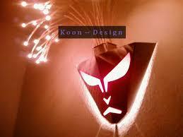 designer deckenleuchten led medusa wandmaske wandle