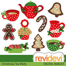 christmas tea party tea party clipart christmas tea pencil and in color tea party