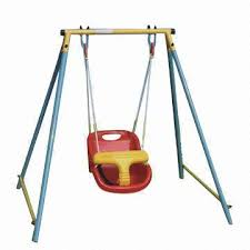 swing set for babies baby s swing set with safe seat global sources