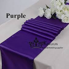 Purple Table L Purple Table For Weddings