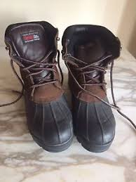 s insulated boots size 9 s insulated steel toe work brown boots size 9 ebay