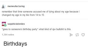 Birthday Meme Tumblr - birthday meme tumblr funny image photo joke 10 quotesbae