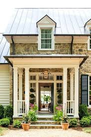 house plans with porches on front and back the southern living idea house by bunny williams charlottesville