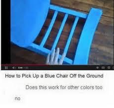 Meme Chair - meme backstories blue chair dank memes amino