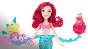 disney princess mermaid u0027spin u0026 swim ariel doll