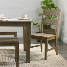 World Market Patio Furniture Distressed Wood Harrow Dining Chairs Set Of 2 World Market