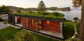 eco friendly house eco friendly avalon house is a green roofed beach getaway that