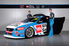 volvo race car a touch of white for volvo supercars